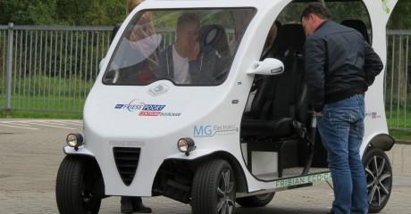 Frisian Eco Car : nieuwe elektrische auto biedt kansen voor stad, natuur en zorg