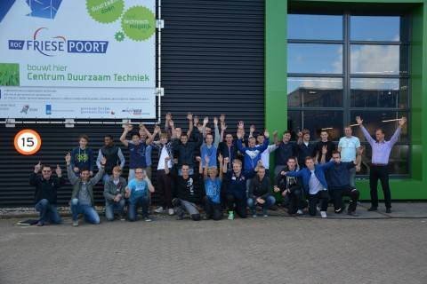 Aftrap innovatieproject Eco-kubus