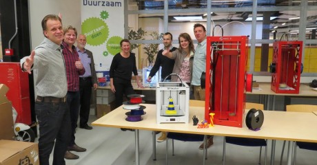 Centrum Duurzaam stelt 3D printlab in bedrijf
