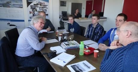 Scheeps- en jachtbouwstudenten kiezen voor casco bij innovatieproject Fluisterboot