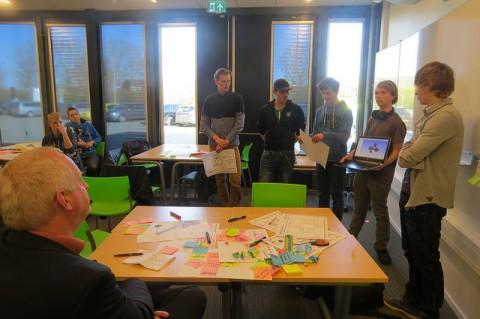 Technische studenten ROC Friese Poort inspireren opdrachtgevers tijdens Challenge