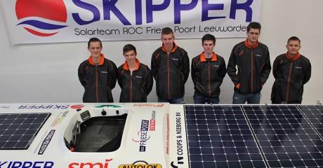Solarboot Skipper vierde tijdens NK Zonnebootrace Akkrum