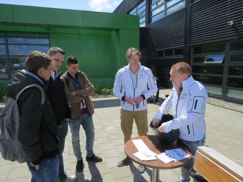 Prikactie Green Graffiti bij Centrum Duurzaam Leeuwarden