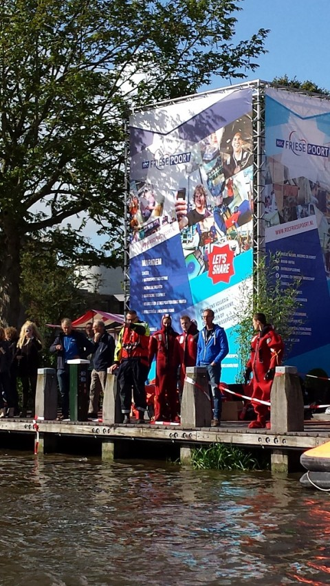 Studenten ROC Friese Poort showen talenten tijdens Admiraliteitsdagen Dokkum