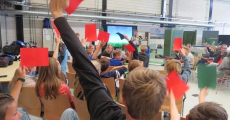 Leerlingen CSG Ulbe van Houten maken kennis met Centrum Duurzaam