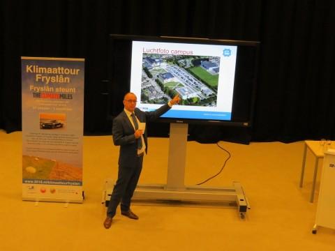 Duurzame speerpunten ROC Friese Poort zichtbaar tijdens Klimaattour Fryslan