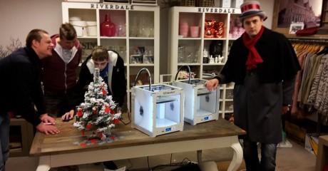 3D printen op kerstfair Dokkum 2015