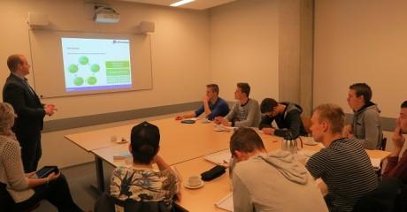Bouwstudenten ROC Friese Poort Emmeloord verdiepen zich in Breeam