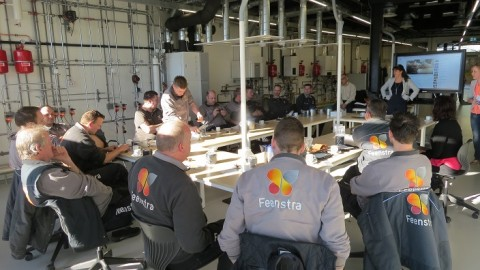 Toolbox meeting Feenstra bij Centrum Duurzaam