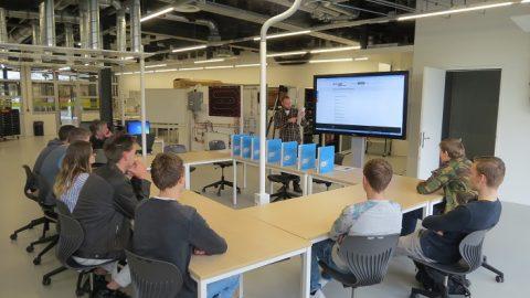 Bouwstudenten ROC Friese Poort Drachten en Emmeloord ontdekken nieuwe technieken