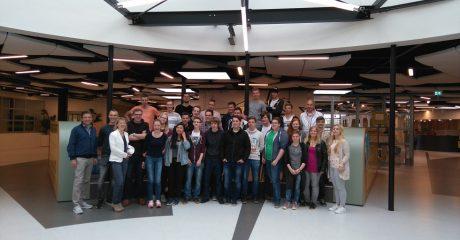 Duitse techniekstudenten te gast bij ROC Friese Poort Centrum Duurzaam