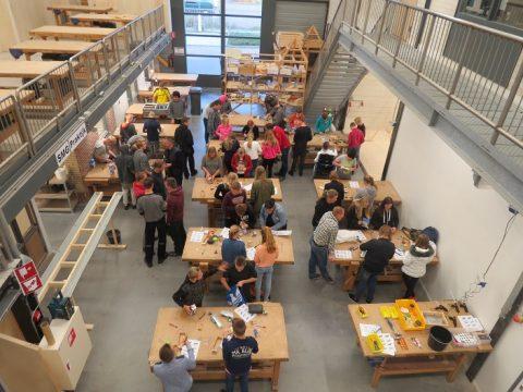 Techniek oriëntatie leerlingen Campus Middelsee bij Centrum Duurzaam