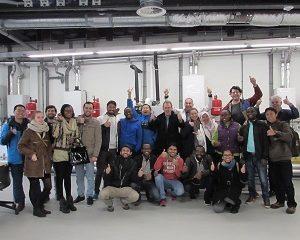 Energie excursie internationale studenten Universiteit Twente bij Centrum Duurzaam