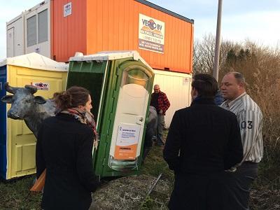 Mobiele toiletten verduurzamen voor Verno verhuur door MBO en HBO