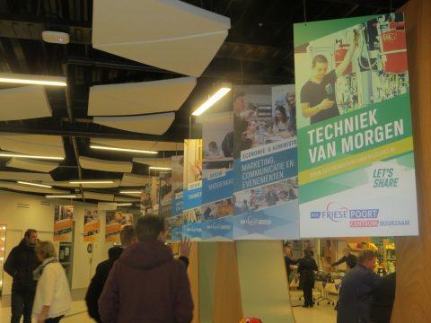 Technieklocatie ROC Friese Poort Leeuwarden van prikkelt bezoekers met technieken morgen