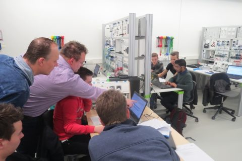 Gecertificeerde KNX training in Duurzaam Doen Huis voor studenten Elektrotechniek en ICT