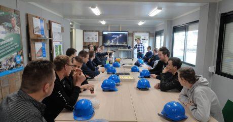 Gastles BIM in informatieruimte nieuwbouw Uniformberoepen voor studenten installatietechniek