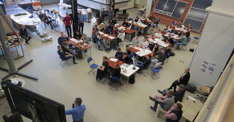 Studenten maken in internationale Challenge prototype voor triple power plant