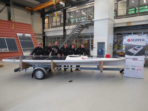 Nieuw Solar Team Skipper Leeuwarden klaar voor Eneco Zonnebootrace NK