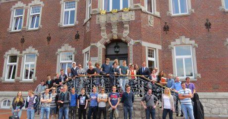 Studenten ROC Friese Poort werken in Witmund aan Waddenagenda