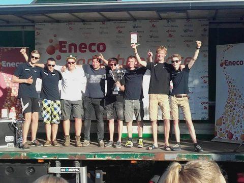 Solar team Sneek Nederlands kampioen Eneco Zonnebootrace