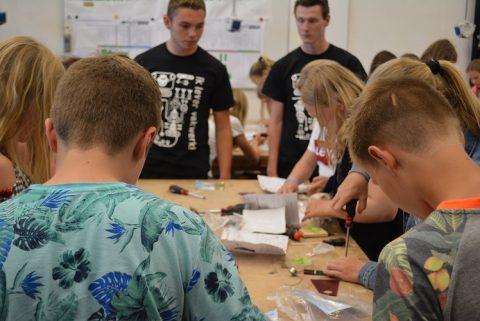 Technics4U met ruim 450 basisschoolleerlingen bij ROC Friese Poort