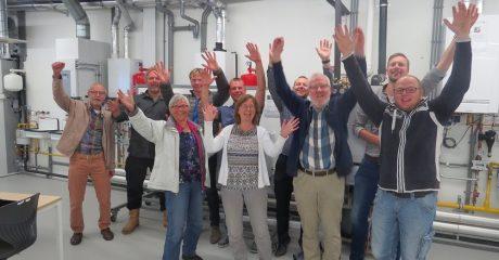 Energiecoaches Leeuwarden volgen workshop in Duurzaam Doen Huis