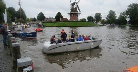 Maritieme studenten ROC Friese Poort in actie op Admiraliteitsdagen Dokkum