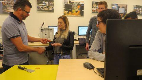 3D print workshop voor studenten OKé-traject