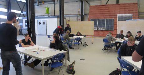 Studenten Drenthe College starten energieprogramma Energy College bij Centrum Duurzaam