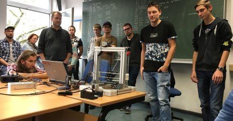 3D kennisuitwisseling tussen Nederlandse en Duitse studenten