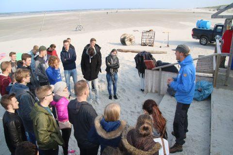 Nederlandse en Duitse studenten ontdekken Ameland door Waddenagenda