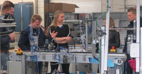 Technieklocatie ROC Friese Poort Leeuwarden maakt techniek levensecht voor VMBO leerlingen