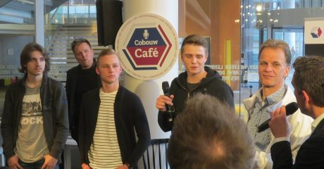 Bouwstudenten delen levensechte projectervaringen in Cobouw Cafe