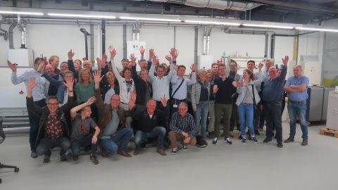 Gemeente Leeuwarden op excursie over duurzame energie in Leeuwarden-West