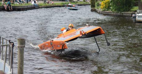 Solarteam Sinnefugel Sneek tweede op NK Zonnebootrace Akkrum 2018