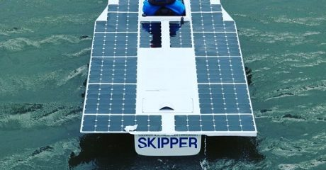 Team Skipper Leeuwarden haalt 3e prijs Solar Sport One Purmerend met nieuwe solarboot