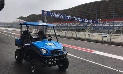 Waterstofauto ROC Friese Poort op TT circuit Assen
