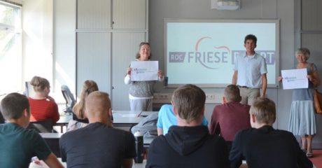 Studenten detailhandel ROC Friese Poort als energieambassadeurs Dokkum in