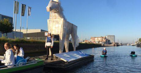 Frisian Trojan Horse vraagt andere aanpak plastic zwerfafval