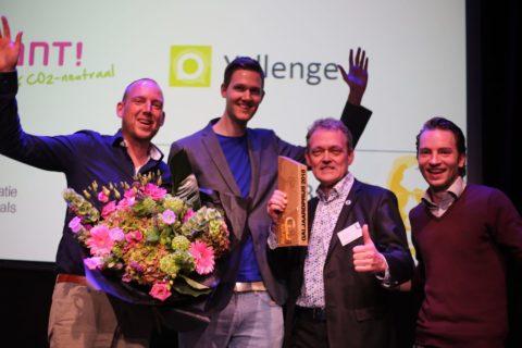 Tsjeard Hofstra, Richard Tjalsma, Bouwe de Boer en Tim Haarlem