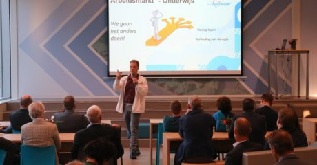 Bijeenkomst VNO NCW in circulair pand ROC Friese Poort