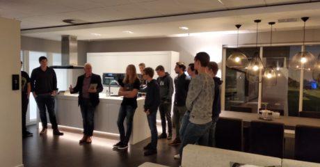 Studenten Elektrotechniek bezoeken Nieuwegein voor KNX-assessment