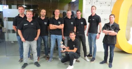 Team Skipper van ROC Friese Poort wint 3e prijs tijdens Solar Sport One-races