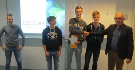 Bouwstudenten Emmeloord en Sneek presenteren ontwerp ECOkubus