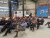 Werknemers Strukton Worksphere volgen les digitale weerbaarheid in Innovatiewerkplaats