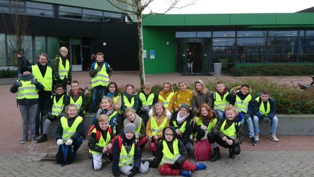 Leerlingen groep 7 Koningin Wilhelminaschool maken kennis met duurzaamheid