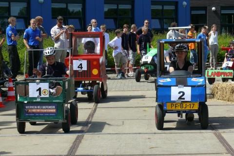 Eerste editie Skelterrace Friesland bij ROC Friese Poort groot succes