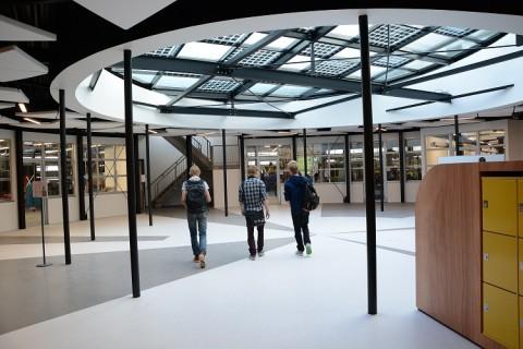 Verbouwing locatie Anne Wadmanwei Leeuwarden flink gevorderd
