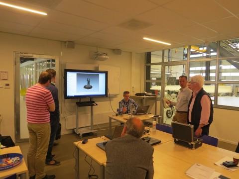 3D scaninstructie voor docenten ROC Friese Poort